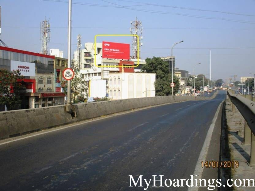 Nigdi Flyover in Pune Billboard advertising, Advertising company Pune,Advertising rights in Maharashtra